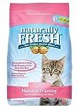 Naturally Fresh Cat Litter - Walnut-Based Quick-Clumping Kitty Litter, Kitten Training Litter, Unscented, 14 lb