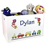 Product review for Boy's Personalized Toy Box Cars & Trucks