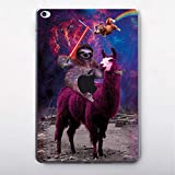 Modo Star Wars Happy Llama Vinyl Skin Wrap for iPad Pro 9.7 12.9 iPad Mini 2 3 4 iPad 2 3 4 iPad Air 2 New iPad 9.7 12.9 inch 2017 iPad 9.7 2018 No Prob Llama Lightsaber Sith iPad Skins MA1304