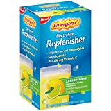 Emergen-C Replenisher (18 Count, Lemon-Lime Flavor) Electrolyte Replenishment Drink Mix with 250mg Vitamin C, 0.33 Ounce Packets