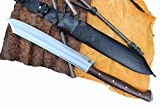 21' Blade Mukti Freedom Machete, Full Tang Hand Forged Khukuri, Gurkha Kukri Knife EGKH Nepal Outdoor Blade - Handmade By Ex Gurkha Khukuri House