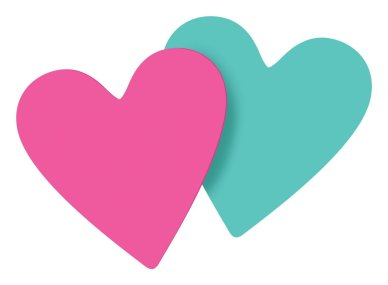 Last Minute Valentine's Day Prime Eligible Gifts - Heart Post-it Notes