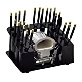 Gold N' Hot 15 pc Piece Marcel Curling Flat Iron Jumbo Stove Kit Set Stand Pouch by BELSON