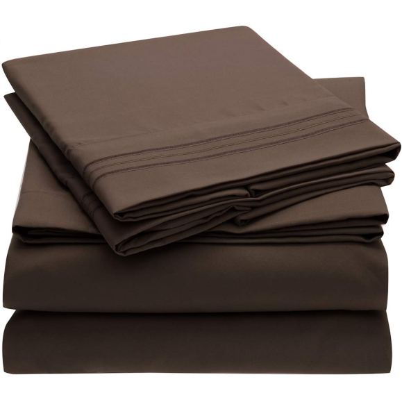 mellanni bed sheet set amazon