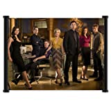 "Smallville TV Show Wall Scroll Fabric Poster (21""x16"") Inches"