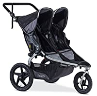 The BOB Revolution Flex Duallie 2.0 is an ideal on-and off-road jogging stroller for outdoor enthusiasts and urbanites alike. This double stroller is amazingly versatile. The swivel-locking front wheel maneuvers easily through crowded streets and loc...