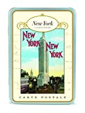 Vintage New York City NYC Postcard set in Keepsake Tin Cavallini