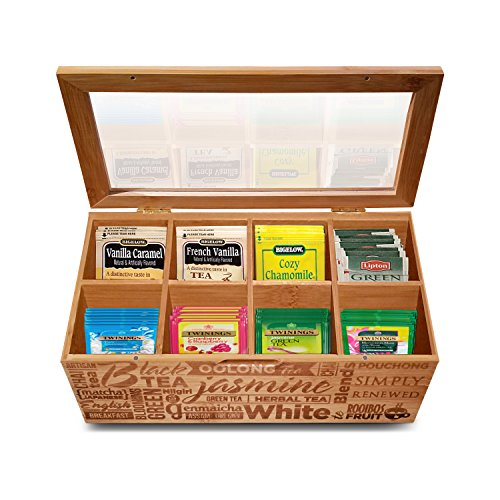 Simply Renewed Tea Box Organizer Chest...