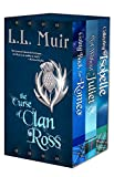 The Curse of Clan Ross (Highlander Time Travel Series): (Books 1-3)