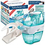 Navage Soft-Click Factory-Second Bundle: Nose Cleaner, 18 SaltPods & Countertop Caddy; Factory-second due to soft-click; Brand new, sealed-box; Functionally perfect; Full 1-year parts & labor warranty