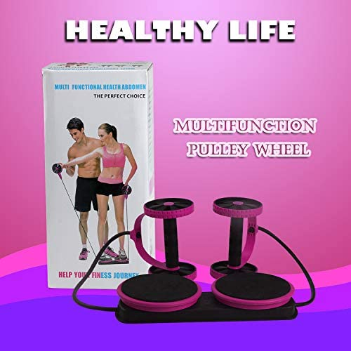 Darhoo Ab Roller Wheel - Ab Wheel Exercise Fitness Equipment - 5-in-1 Multi-Functional Core Ab Workout Abdominal Wheel Machine - Ab Roller Home Gym Equipment for Both Men & Women 7