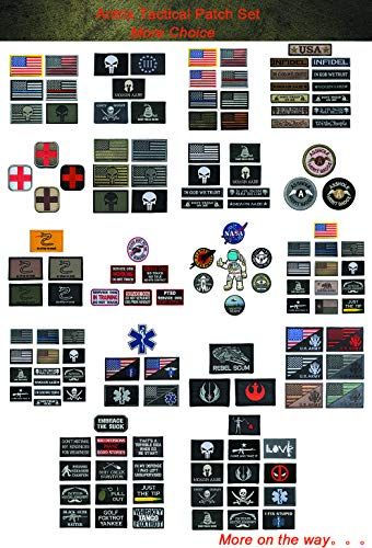 Antrix four Items EMT Star of Life Medical Medic Cross Army Morale Patch Hook & Loop Tactical Morale Patches – three.15″x2″ deal 50% off 51q9gIwhZEL