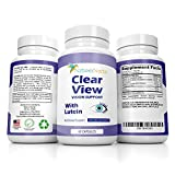 Vision Support Supplement With 10 mg Lutein and Zeaxanthin to Restore Eye Health - Complete Formula - Packed With Vitamin C & E Plus Zinc + Selenium + Copper For Essential Eye Care- by Natures Nectar