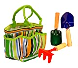 Toysmith Kids' Garden Tote with Tools