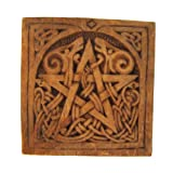 Dryad Design Small Pentacle Plaque Wood Finish