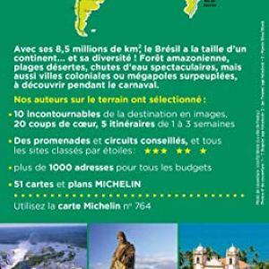 Guide Vert Brésil Michelin