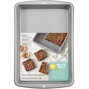Wilton Recipe Right Rectangle Deep Cake Tin, 33cm x 22.9cm (13in x 9in) 51qF 1Za8aL