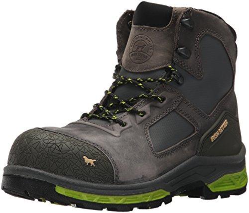 """Irish Setter Work Men's Kastoa 6"""" Safety Toe Work Boot, Grey, 10 D US"""
