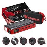 Autobots Shockwave Jump Starter   Best Portable Car Battery Booster with Smart Jumper Cables   600 Peak Amp 18000 mAh 12 V Automotive Jump Box Power Pack & Mobile Super Charger Kit
