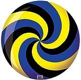 Spiral (Yellow/Blue/Black) Viz-a-Ball 10lb.