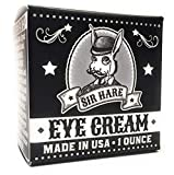 Anti Aging Eye Cream for Men by Sir Hare | Natural and Organic Balm Helps Reduce Appearance of Wrinkles, Bags Under Eyes, Puffiness, and Dark Circles