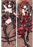 F Zonn Tokisaki Kurumi Date A Live 160 x 50cm(62.9in x 19.6in) 2 Way Tricot Pillowcases