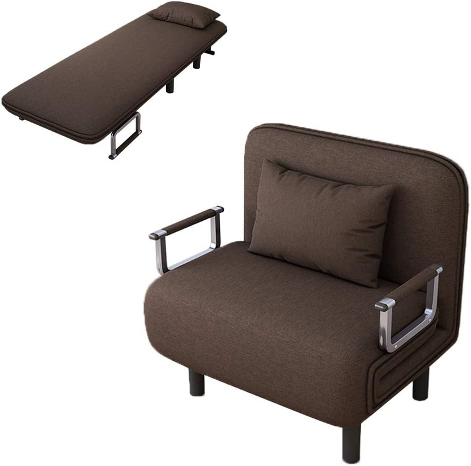 Amazon Com Alalaso Sofa Bed Folding Sleeper Bed Chair Single Sleeper Convertible Chair Lounger Couch Recliner Bed Ship From Usa Kitchen Dining