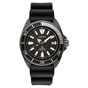 Seiko SRPB55 Mens Black Ion Prospex Automatic Dive Watch