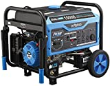 Pulsar 10,000W Dual Fuel Portable Generator, CARB Approved with Switch & Go Technology & Electric Start, PG10000B16