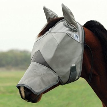 Cashel-Crusader-Horse-Fly-Mask-with-Ears-and-Long-Nose