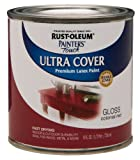 Rust-Oleum 1964730 Painters Touch Latex, Half Pint,  Colonial Red