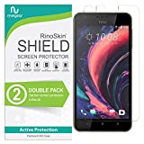 RinoGear HTC 10 Desire Lifestyle Screen Protector [2-Pack] Case Friendly Screen Protector for HTC 10 Desire Lifestyle Accessory Full Coverage Clear Film