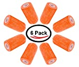 "Product review for 3"" Vet Tape Bulk, Self Adherent Wrap Tape, Self Adhering Stick Bandage, Self Grip Roll, Orange (3"" inches Wide x 15' Feet Long) (6 Rolls, Orange)"