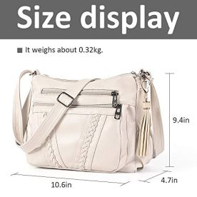 ELDA-Crossbody-Bags-For-Women-Pocketbooks-Soft-PU-Leather-Purses-and-Handbags-Multi-Pocket-Shoulder-Bag
