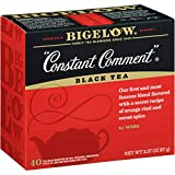 Bigelow Constant Comment Tea 40 Bags (Pack of 6), 240 Tea Bags Total.  Caffeinated Individual Black Tea Bags, for Hot Tea or Iced Tea, Drink Plain or Sweetened with Honey or Sugar