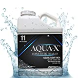 1 Gallon AQUA-X 11 Clear, Penetrating Concrete Sealer - Mold and Mildew Inhibitor, Freeze Thaw Protection, Covers up to 600 sq ft