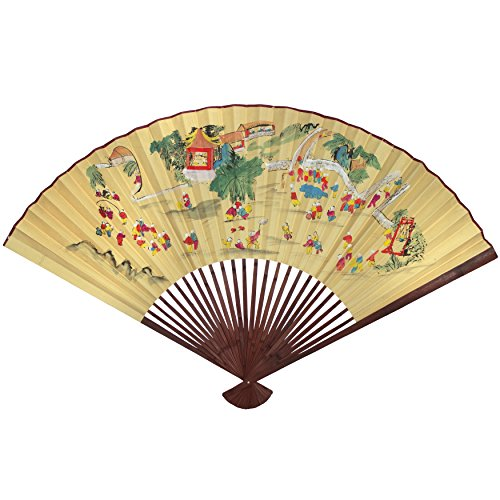 Mystical beautiful and unique japanese wall decor - Wall fans decorative ...
