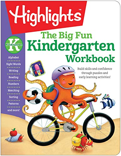 The Big Fun Kindergarten Workbook (Highlights Big Fun Activity Workbooks)