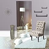Naomi Home Mirrored Bevel Mirror 70' x 30'