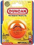 Duncan Imperial Yo-Yo - [Orange] String Yo-Yo for Beginners with Narrow String Gap, Steel Axle, Plastic Body, Looping Play