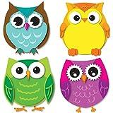 Carson Dellosa - Colorful Owls Mini Colorful Cut-Outs, Classroom Décor, 36 Pieces