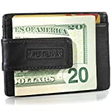 MUTBAK Bunker - Front Pocket Magnetic Money Clip Wallet with RFID/NFC Blocking (Vegas)