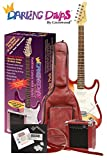 Darling Divas Electric Guitar Package | includes amp and case | Red Hot Chili