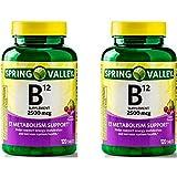 Spring Valley Vitamin B12 Tablets, 2500 Mcg, 120 Ct (2)