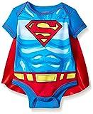 Superman Baby Boys' Bodysuit With Cape, Blue, 6-9 Months