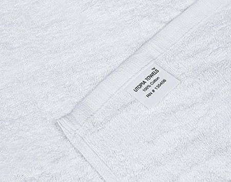 Utopia-Towels-Cotton-White-Washcloths-Set-Pack-of-24-100-Ring-Spun-Cotton-Premium-Quality-Flannel-Face-Cloths-Highly-Absorbent-and-Soft-Feel-Fingertip-Towels