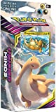 Pokemon TCG: Sun & Moon Unified Minds, Soaring Storm 60-Card Theme Deck Featuring A Promo Dragonite