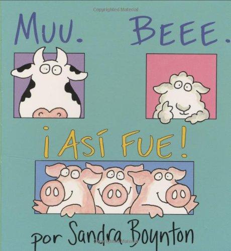Muu Beee ¡así fue! Grandes libros que enseñan a los niños amabilidad, resiliencia y diversidad