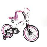 18' Hello Kitty Girls' Sidewalk Bike, White