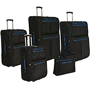 Nautica Maritime Five Piece Luggage Set